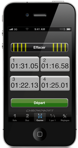 chronosoft pour iphone