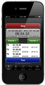 CHRONOSOFT le chronomètre pour Iphone